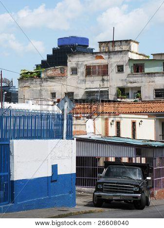 Caracas, jungle of city slum
