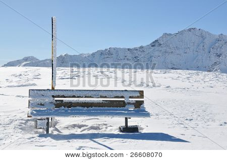 Alpine scenery, Pizol, Switzerland