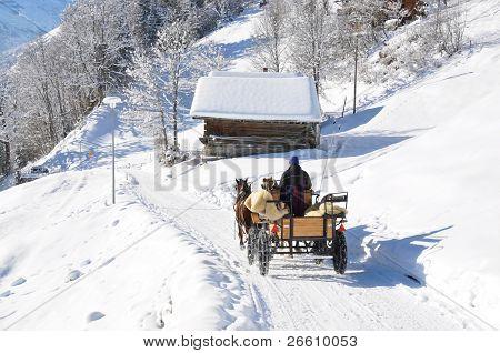 Braunwald, famoso centro de esquí suizo