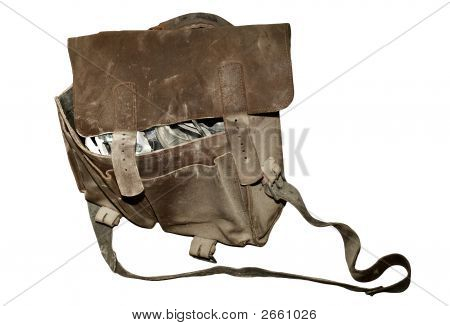 Tool Bag, Isolated From The Background