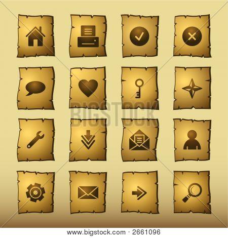 Papyrus Web Icons