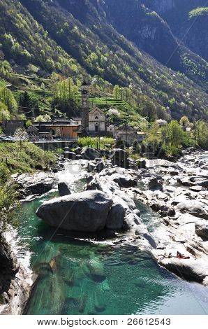 Verzasca valley, Switzerland
