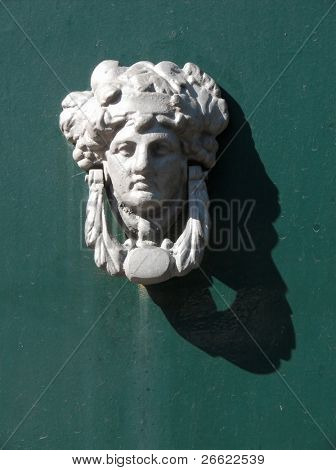 Door knocker with head of Medea