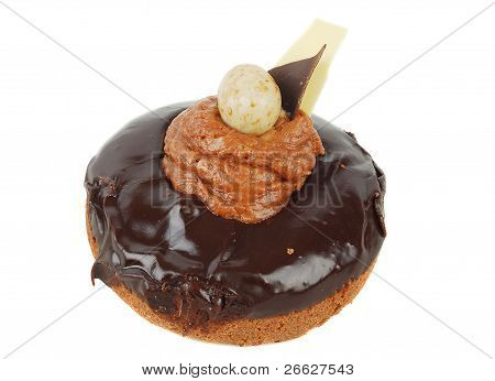 Chocolate Doughnut  With Creamy Feeling