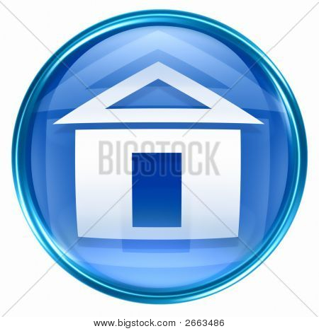 Home Icon Blue