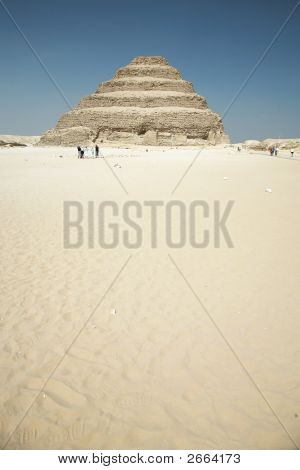 Saqqara Egyptian Pyramid