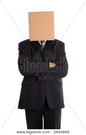 Box Man Arms Folded