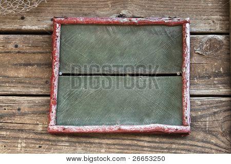 Vintage blank sign