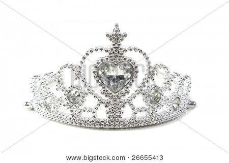 Crown isolated on white