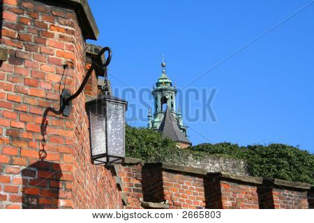 Lantern Of Wawel Castle. Krakow. Poland.