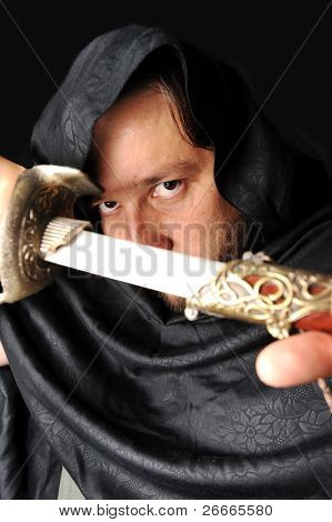 terrorist man