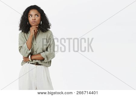 Woman Thinking How Get Rid