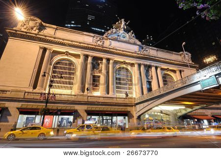 Grand Central Terminal in New York City.