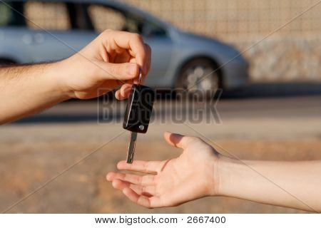 Buying New Car, Passing Key