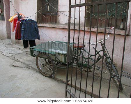 Street scene in Xi'an, China.
