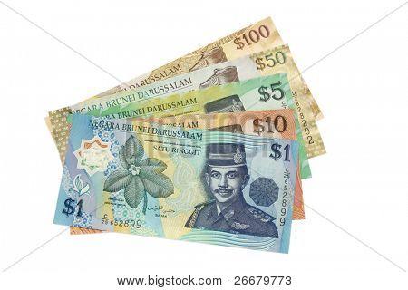 One set of Brunei money (Brunei currency)