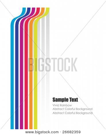 modern vector poster with space for your text