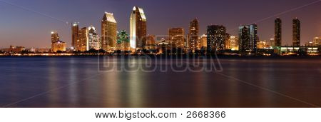 Downtown San Diego Panorama