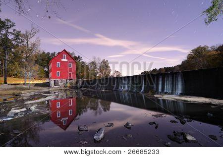 Starr's Mill near Atlanta, Georgia.