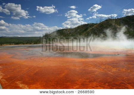 The Colors Of Grand Prismatic Spring