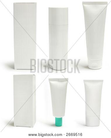 Medizinische Packungen und Container, Blank