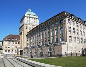 stock photo of zurich  - University of Zurich - JPG