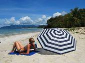 image of langkawi  -  Beach scene - JPG