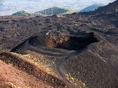 Craters Silvestri of the Etna in Sicilia