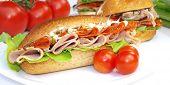Постер, плакат: Здоровое бутерброд