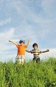 picture of happy kids  - happy kids - JPG