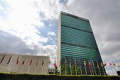NEW YORK CITY - JUNE 17: The United Nations building in Manhattan is the official headquarters of th