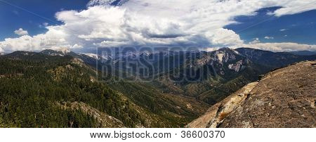 Mountains In The Sierra Nevada