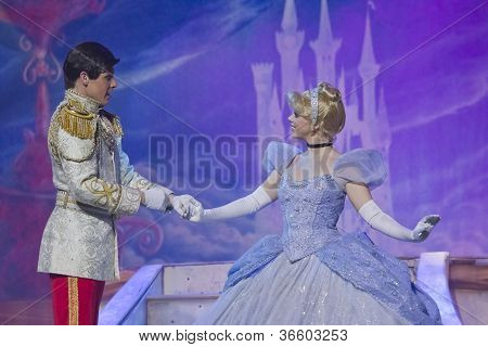Cinderella Meeting Prince Charming
