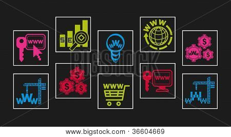 Web-design Icon Set