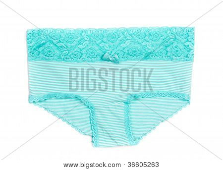Female Striped Lace Panties
