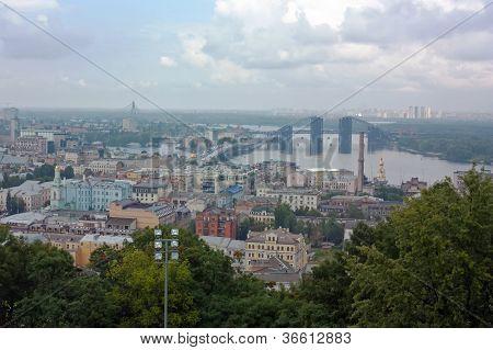 View On Podil,kiev, Ukraine