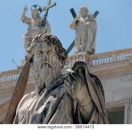 St. Paul statue in Vatican