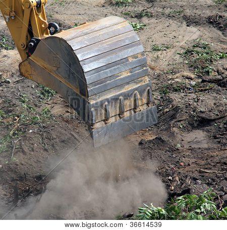 Bucket of excavator