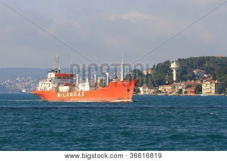 LPG tanker ship MILANGAZ
