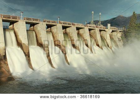 Hydro Dam Spillway