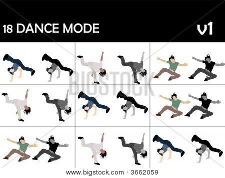Posing Cool Dancers