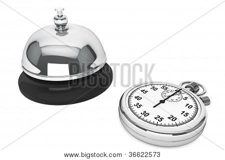 Stopwatch With Service Bell