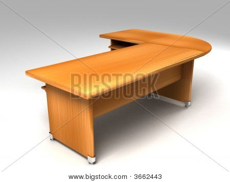 Three Dimensional Office Desk