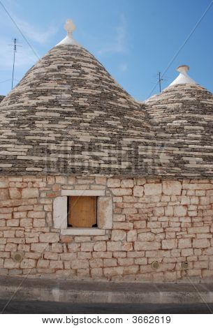 Stone Trullo Window