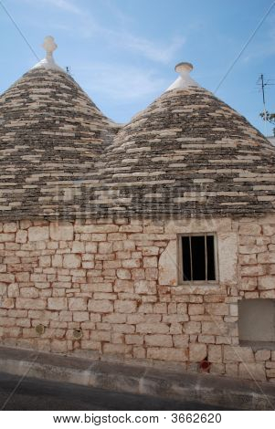 Window In Stone Trullo