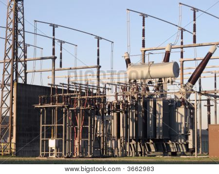 High Voltage Power Plant