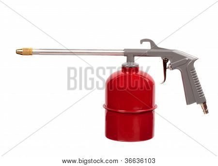 Red Air Gun