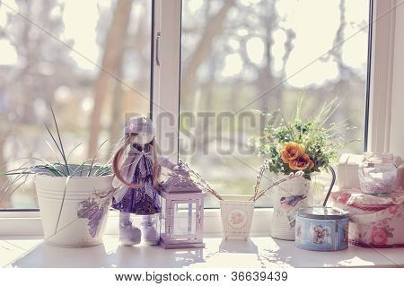 story on the window