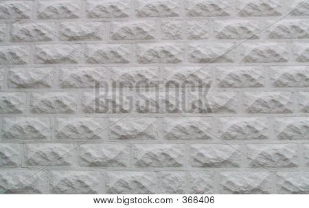 White Cinder Block