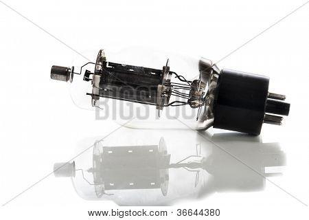 glass vacuum radio tube
